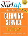 Click here for larger photo of Start Your Own Cleaning Service