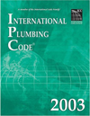 Click here for larger photo of International Plumbing Code 2003 (International Plumbing Code)