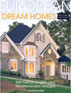 Click here for larger photo of European Dream Homes: 200 French, English and Mediterranean Designs