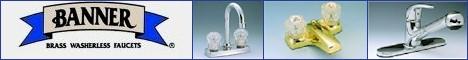 Banner® Brass Faucets