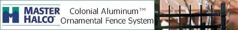 Colonial Aluminum™ Ornamental Fence