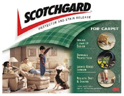 Scotchgard™ Fabric Protector - Fibers and Backing