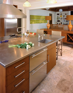 Four Seasons Metal Fabrication - Countertop and Surfaces