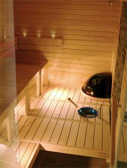Helo Saunas - Plumbing Fixtures