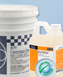 Hillyard Cleaning Products - Installation Materials