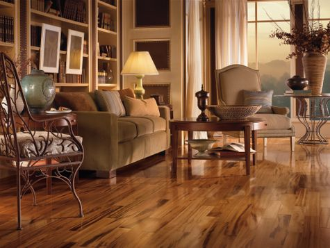 Living Rooms Flooring Idea Tigerwood Natural By Armstrong Hardwood