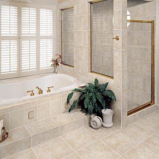 Bathroom Design Idea: Ceramic Tile - Carpet U.S.A.