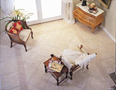 Living Room Flooring Idea Ceramic Tile By Emser Tile