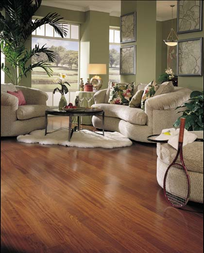 Living Room designs courtesy of Mannington Hardwood Flooring  All  420 x 520
