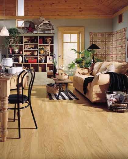 Heartland Oak Plank Mannington Hardwood Flooring