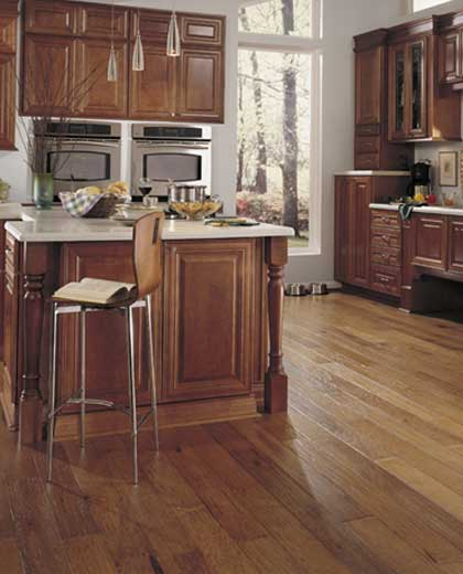 Impressive Hickory Hardwood Floors in the Kitchen 420 x 520 · 25 kB · jpeg