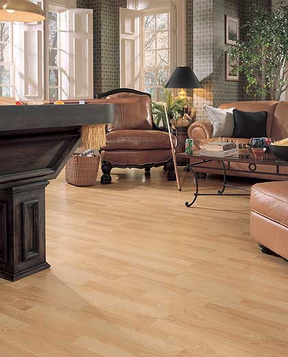 Natural Norwegian Birch Mannington Laminate Flooring