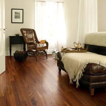 Exotics Imperial Tigerwood Atlantis Mannington Hardwood Flooring