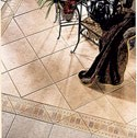 Click here for larger photo and more infomation about Tileart V Floor - Triangles, Listellos