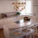Click here for larger photo and more infomation about Silestone® quartz surface in the kitchen