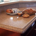 Click here for larger photo and more infomation about Silestone� quartz surface in the kitchen