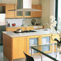 Click here for larger photo of Silestone® quartz surface in the kitchen