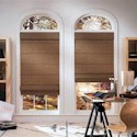 Click here for larger photo of Jubilance Roman Shades 