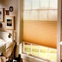 Click here for larger photo of Brilliance® Pleated Shades