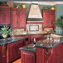 Click here for larger photo and more infomation about Ashford in Cherry with Burgundy