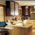 Click here for larger photo and more infomation about Vail in Maple Natural and Cherry with Burgundy