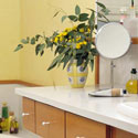 Click here for larger photo of Silestone® Quartz Surface in the Bathroom