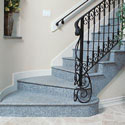 Click here for larger photo and more infomation about Silestone® Quartz Surface on the stairs