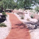 Click here for larger photo and more infomation about Sidewalk using Terra Cotta