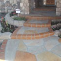 Click here for larger photo and more infomation about Porch  with tile pattern