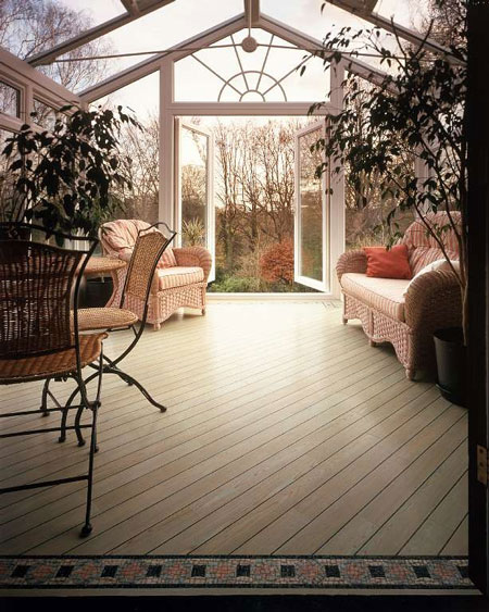 Sunrooms Flooring Idea Amtico Washed Wood In Green By