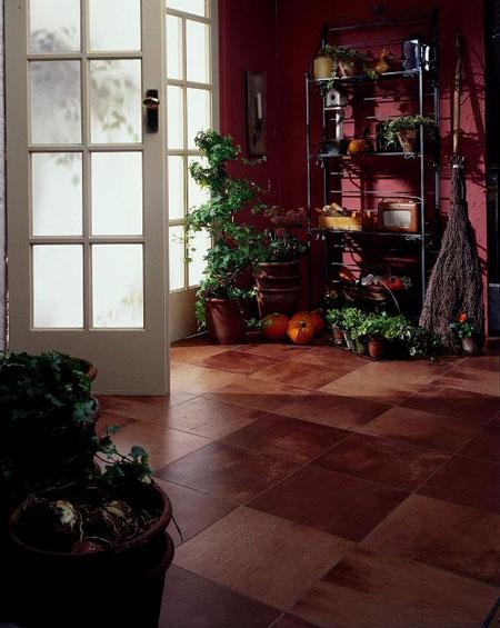 Sunrooms flooring idea mediterranean style by amtico for Sunroom tile floor ideas