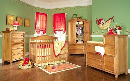 ديكورات غرف اطفال فخمة 2012