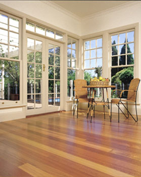 Sunrooms flooring idea alpine ash by boral timber flooring for Sunroom tile floor ideas