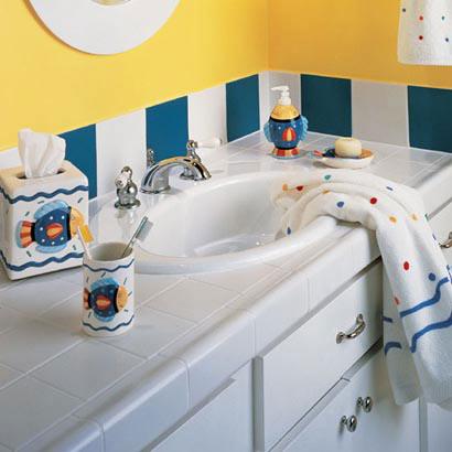 Kids bathrooms flooring ideas room design and for Daltile bathroom ideas