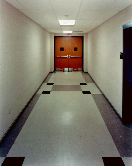 Flooring patterns corridor
