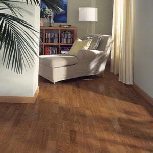 Family room dens flooring idea oak new york by k hrs for Hardwood floors york pa