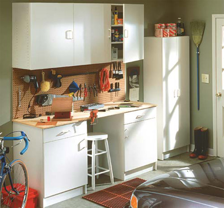 Garage cabinets mills pride garage cabinets for Mills pride kitchen cabinets